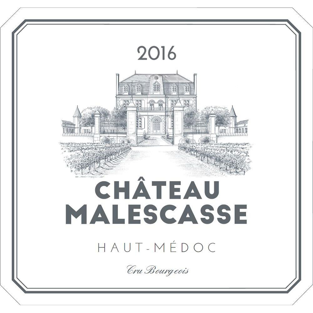Chateau Malescasse  2016 Front Label