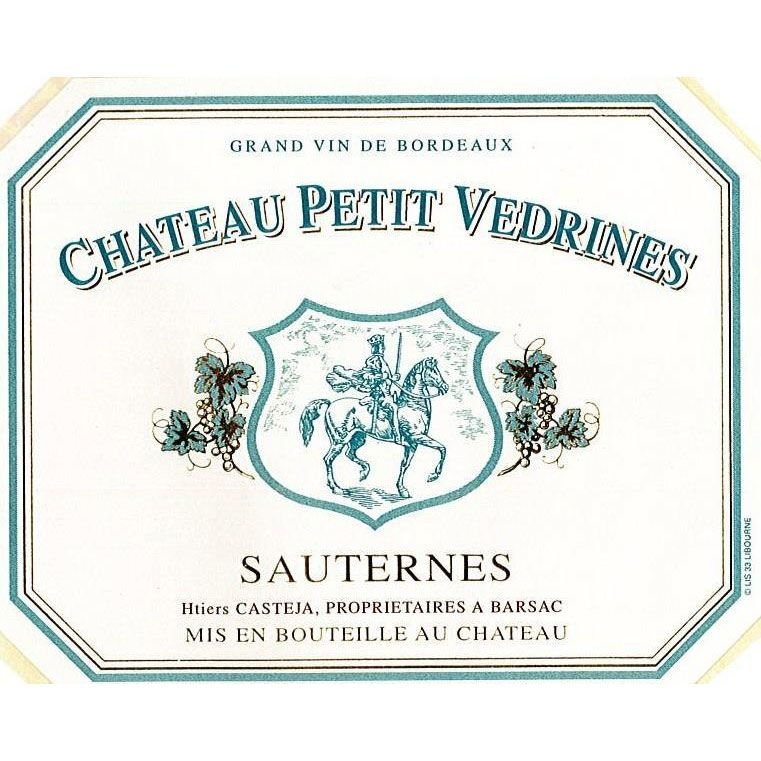 Chateau Doisy Vedrines Chateau Petit Vedrines 2012 Front Label