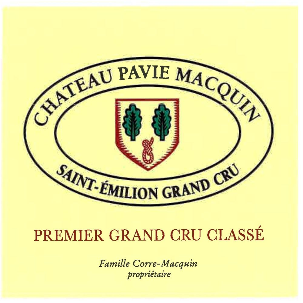 Chateau Pavie Macquin  2016 Front Label