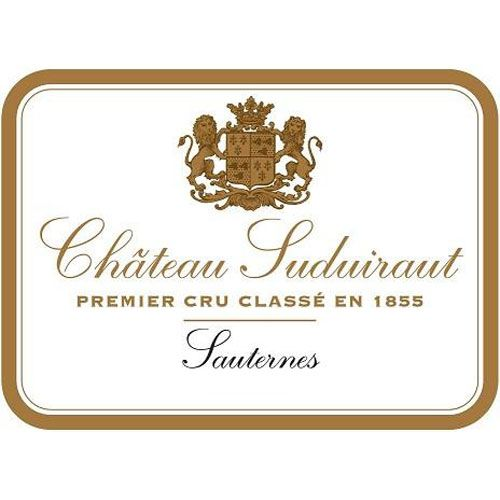 Chateau Suduiraut Sauternes (375ML half-bottle) 2016 Front Label
