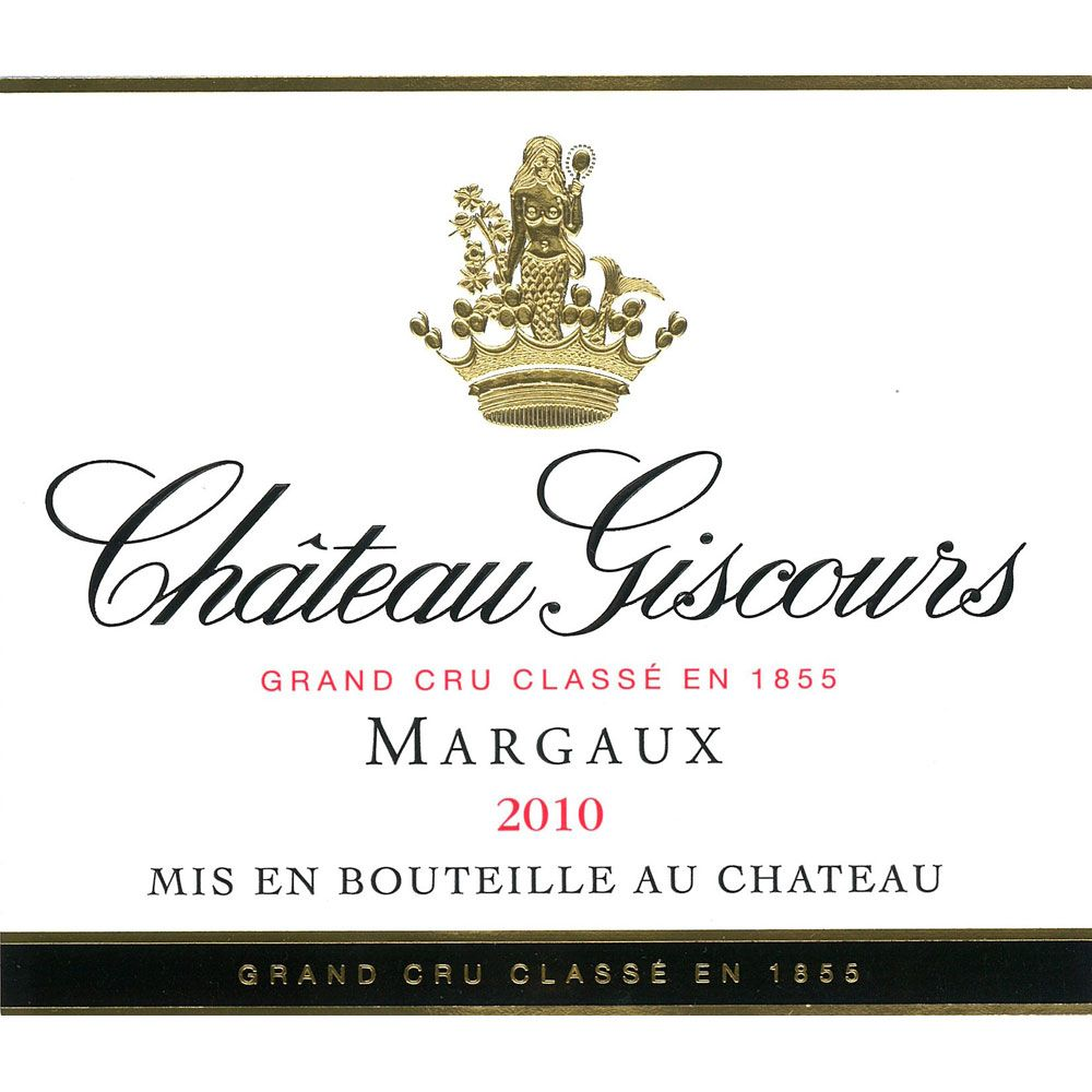 Chateau Giscours (1.5 Liter Magnum) 2010 Front Label