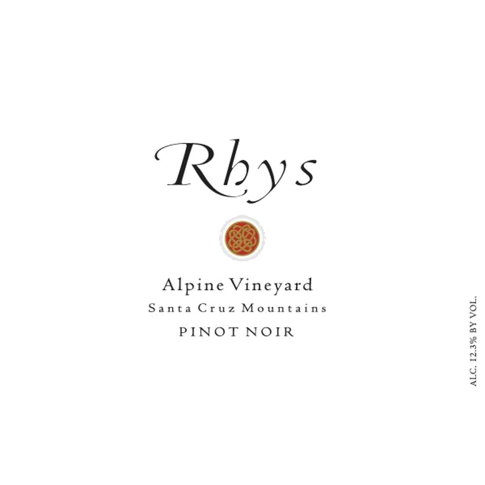 Rhys Vineyards Alpine Vineyard Pinot Noir (1.5 Liter Magnum) 2012 Front Label