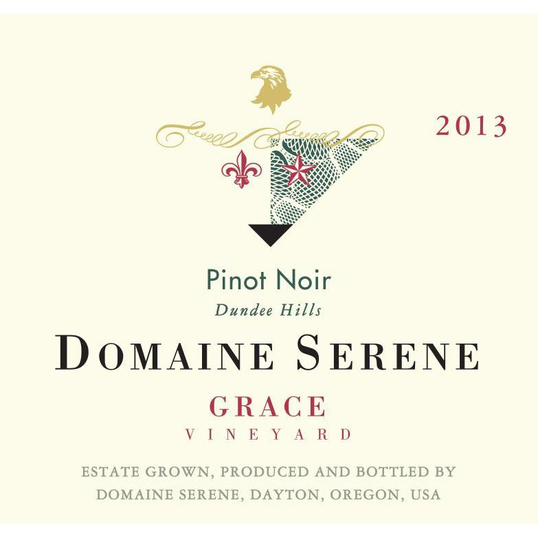 Domaine Serene Grace Vineyard Pinot Noir 2013 Front Label