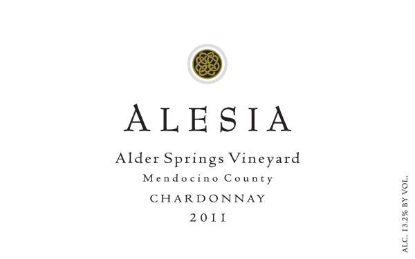 Rhys Vineyards Alesia Alder Springs Vineyard Chardonnay 2011 Front Label