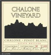 Chalone Estate Pinot Blanc 1999 Front Label