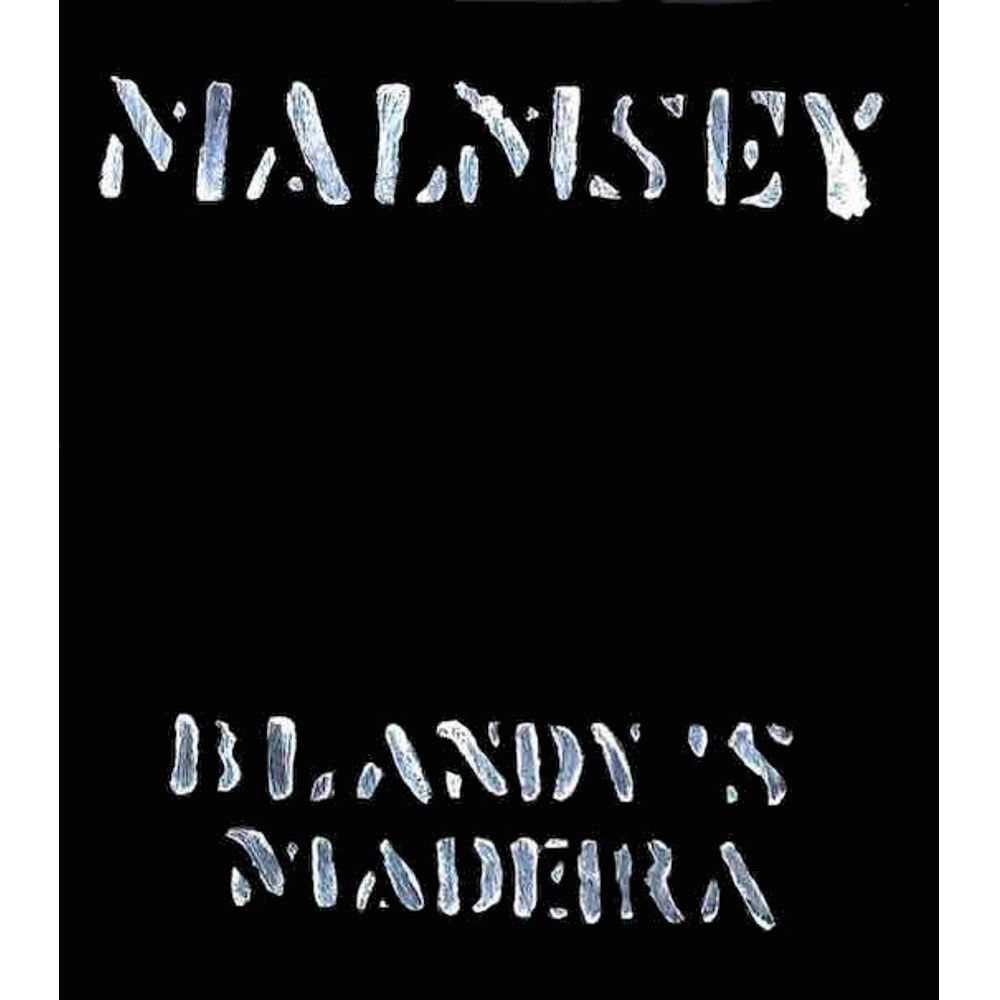 Blandy's Vintage Malmsey Madeira 1988 Front Label