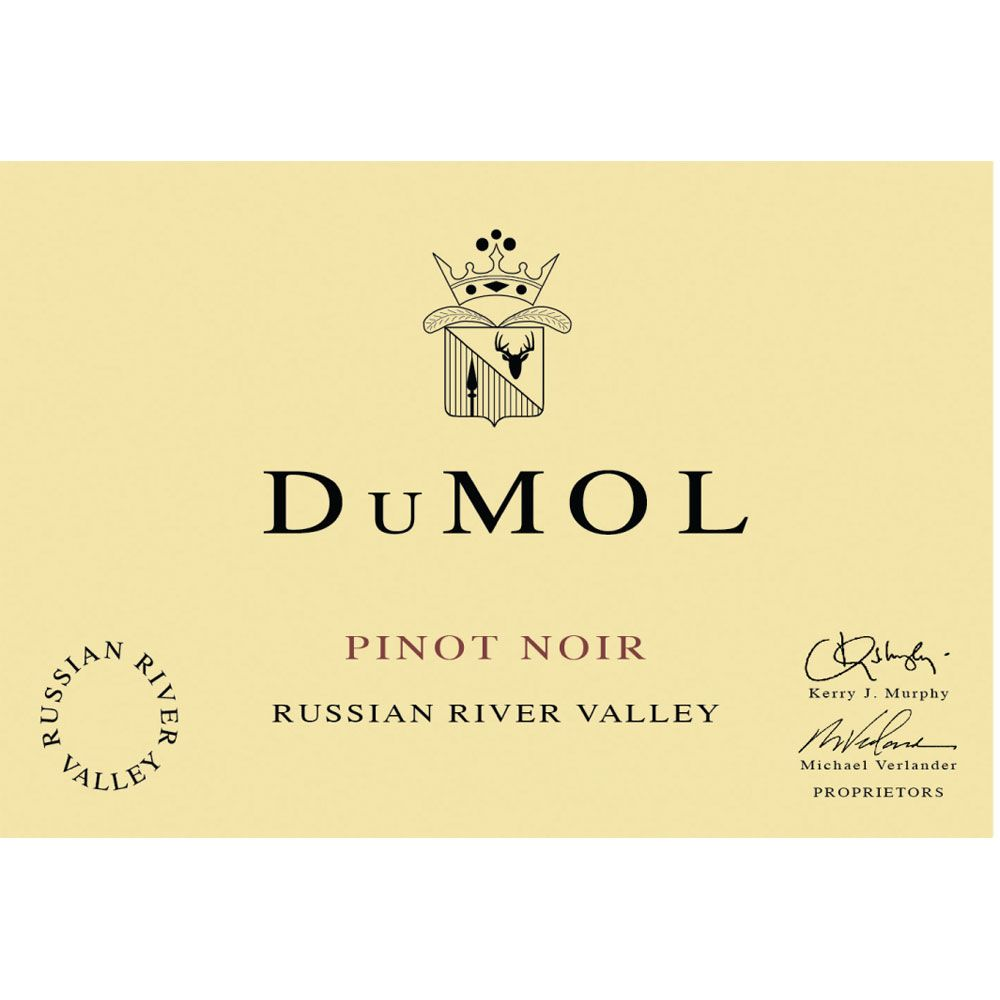 DuMOL Russian River Valley Pinot Noir (1.5 Liter Magnum) 2014 Front Label