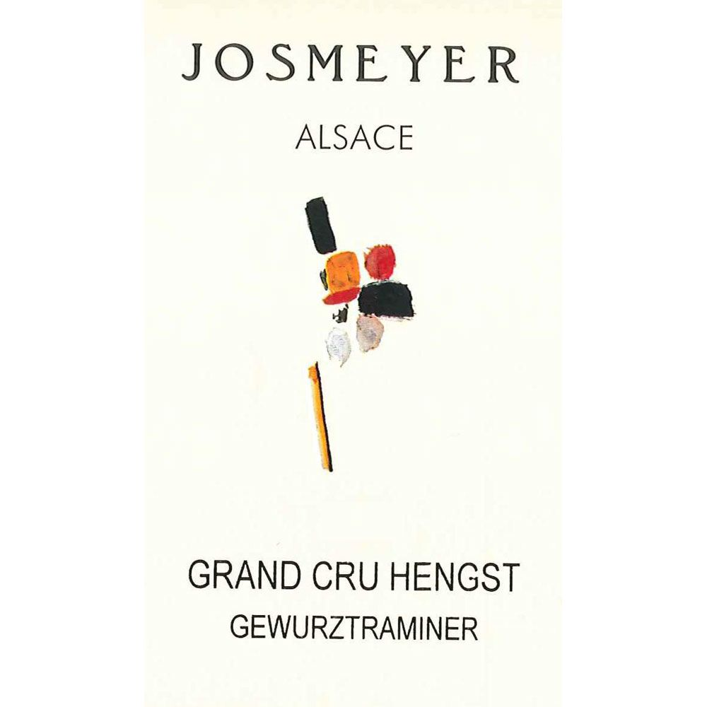 Josmeyer Gewurztraminer Hengst Grand Cru 2005 Front Label