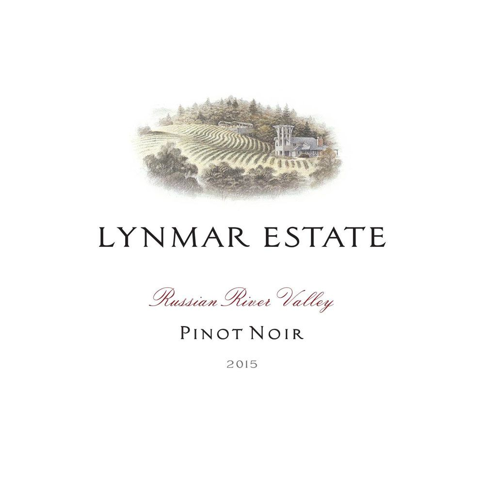 Lynmar Winery Russian River Pinot Noir 2015 Front Label