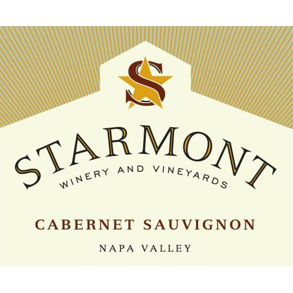 Starmont Cabernet Sauvignon (375ML half-bottle) 2015 Front Label