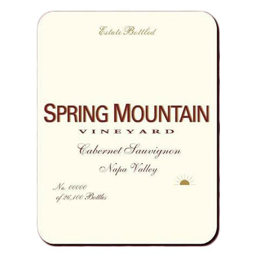 Spring Mountain Vineyard Estate Cabernet Sauvignon (1.5 Liter Magnum) 2005 Front Label