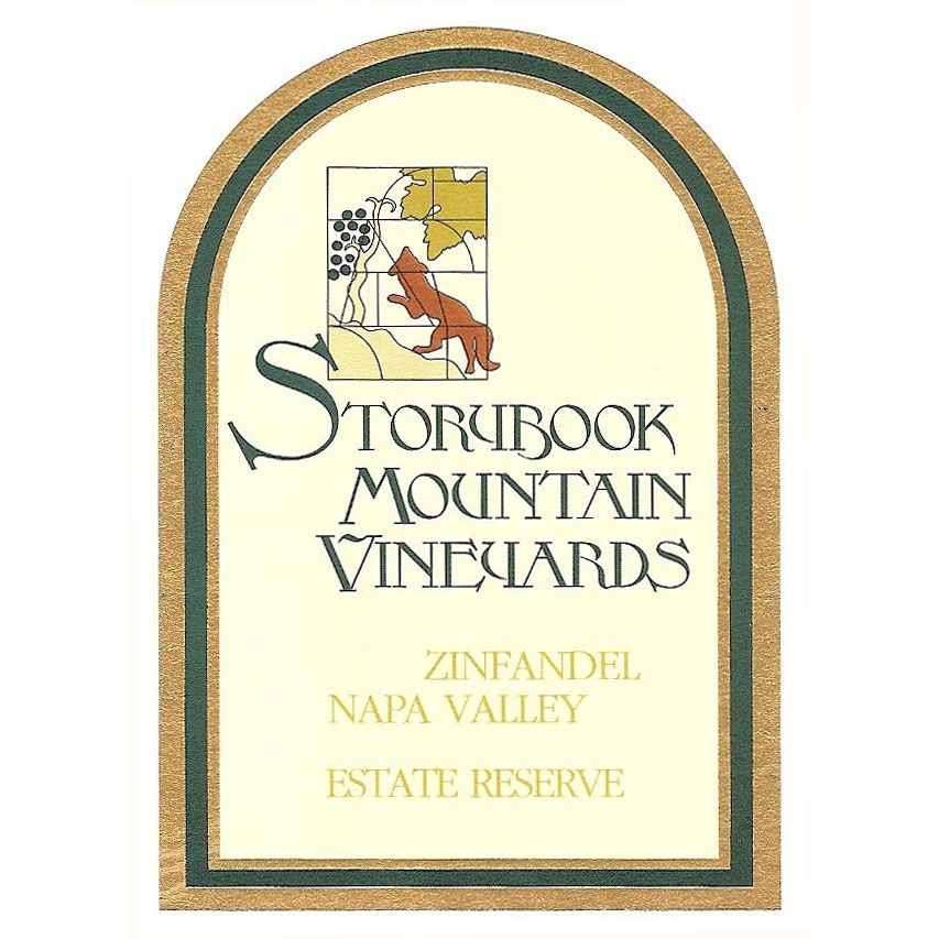 Storybook Mountain Estate Reserve Zinfandel 2013 Front Label