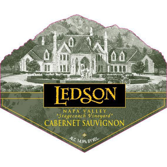 Ledson Winery & Vineyards Stagecoach Cabernet Sauvignon  2012 Front Label