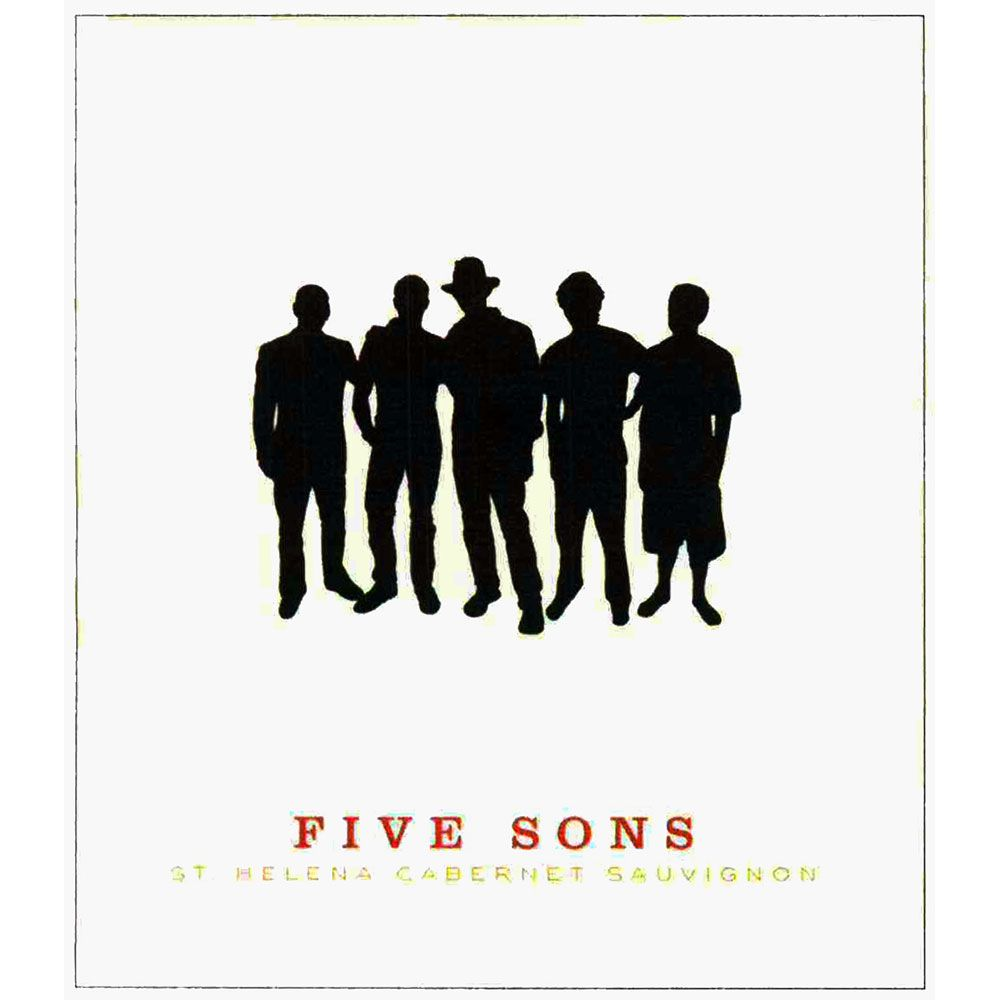 Five Sons Cabernet Sauvignon 2009 Front Label