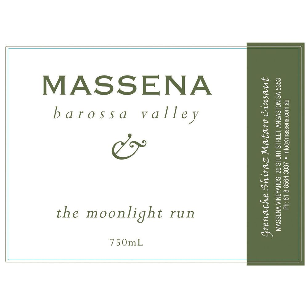 Massena Moonlight Run 2001 Front Label