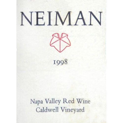 Neiman Cellars Caldwell Vineyard Red 1998 Front Label