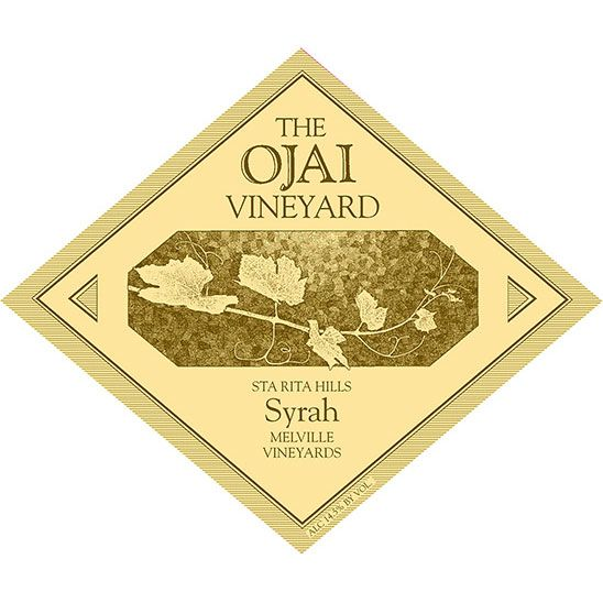 Ojai Melville Syrah 2002 Front Label