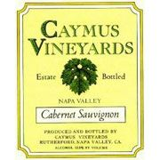 Caymus Napa Valley Cabernet Sauvignon 1985 Front Label