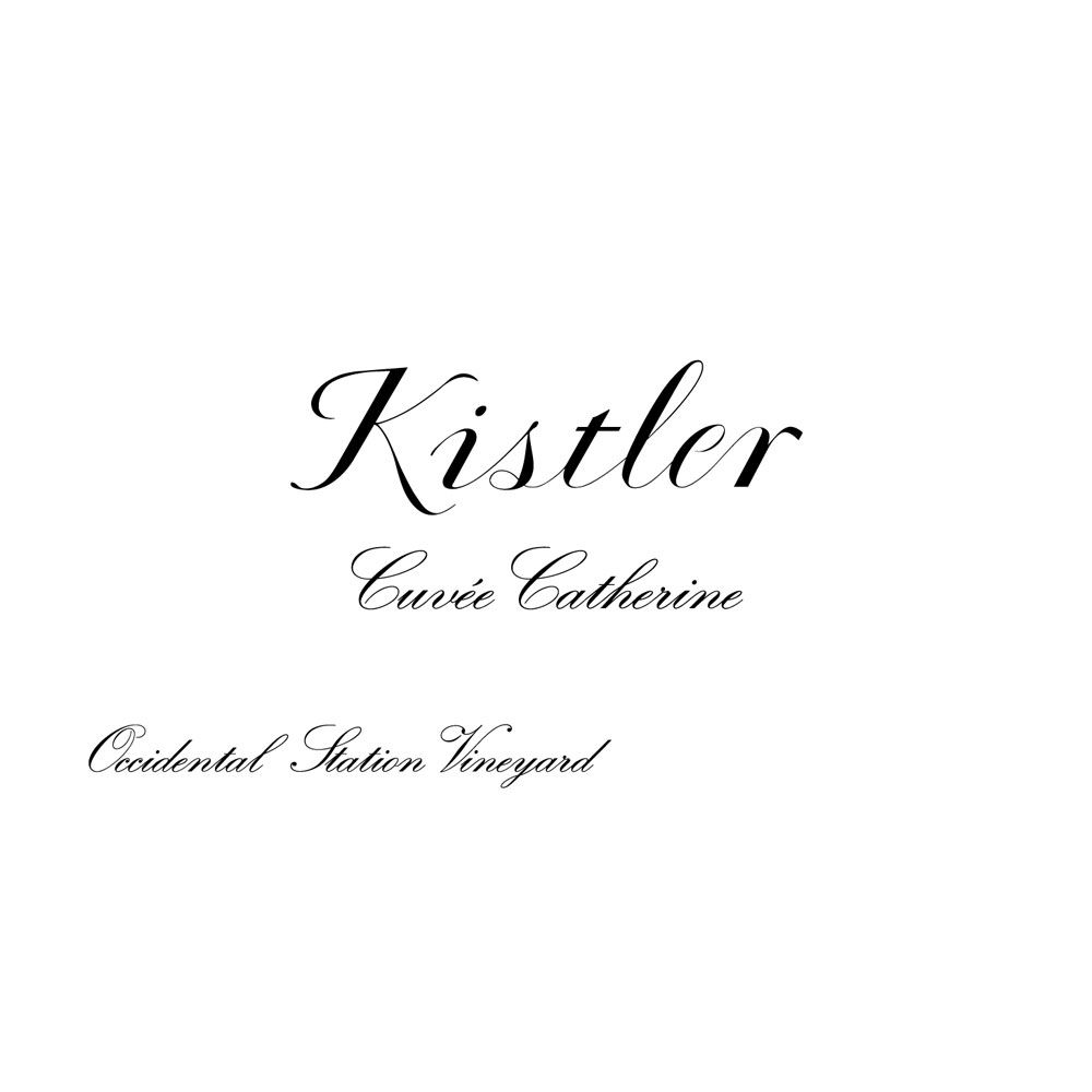 Kistler Vineyards Cuvee Catherine Pinot Noir 1999 Front Label