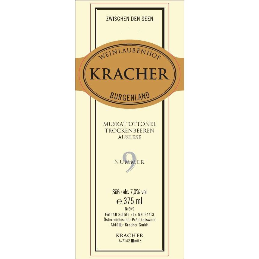 Kracher Muskat Ottonel TBA Nummer 4 (375ML half-bottle) 1999 Front Label