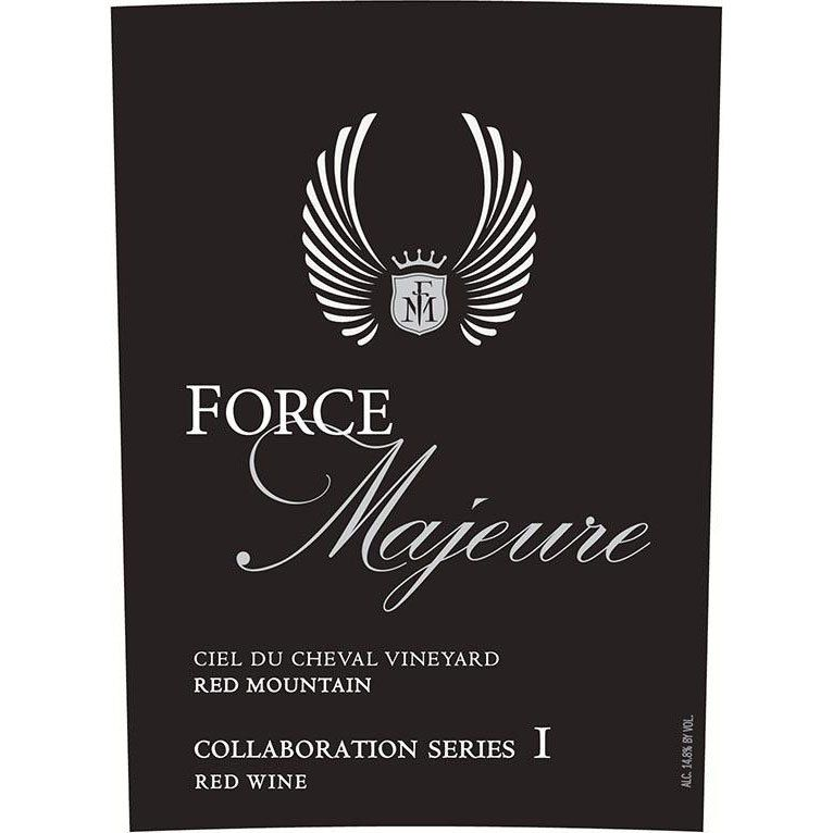 Force Majeure Collaboration Series I Ciel du Cheval Vineyard Red 2006 Front Label