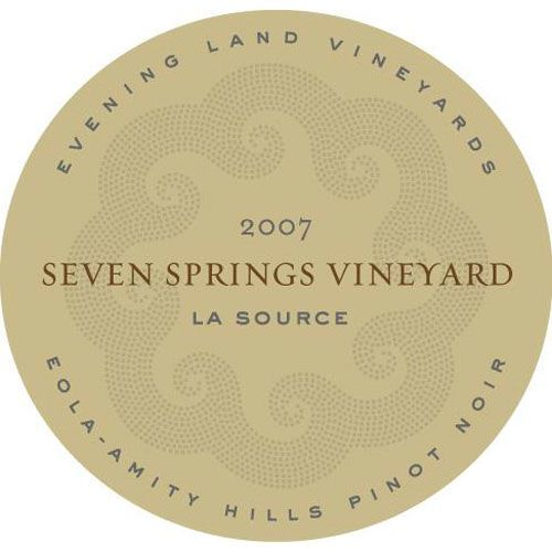 Evening Land Seven Springs Vineyard La Source Pinot Noir (1.5 Liter Magnum) 2007 Front Label