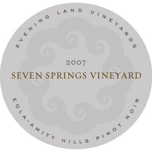 Evening Land Eola-Amity Hills Seven Springs Vineyard Pinot Noir (1.5 Liter Magnum) 2007 Front Label