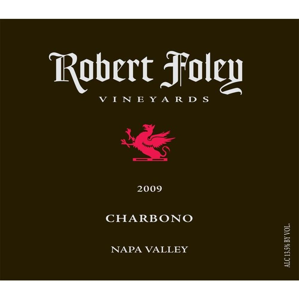 Robert Foley Vineyards Charbono 2009 Front Label