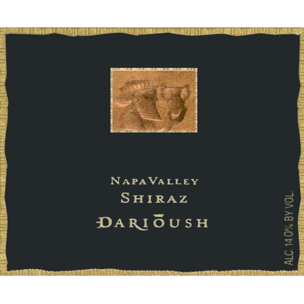 Darioush Signature Shiraz 2003 Front Label