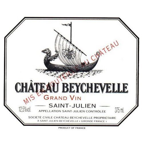 Chateau Beychevelle (375ML half-bottle) 2003 Front Label