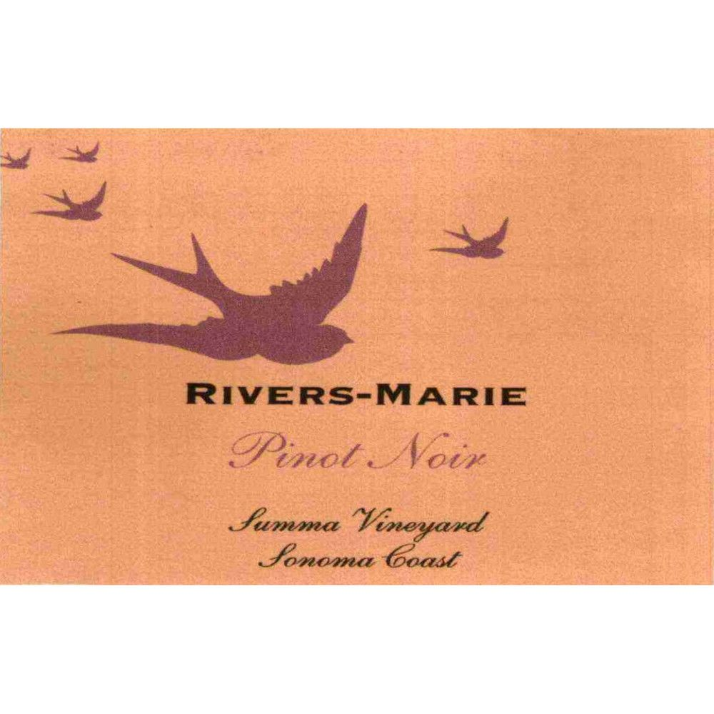 Rivers-Marie Summa Vineyard Pinot Noir (1.5 Liter Magnum) 2004 Front Label
