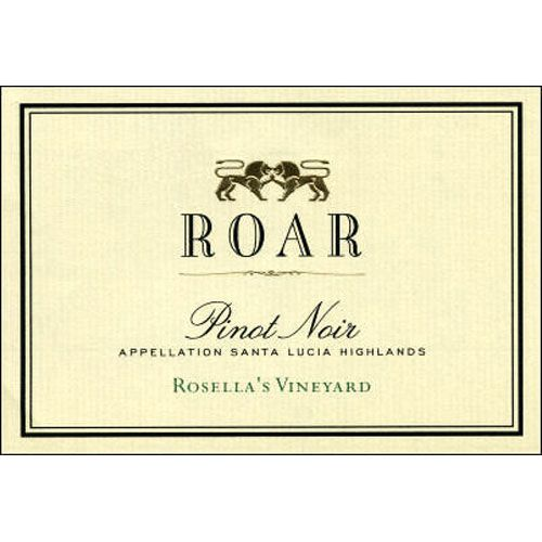 Roar Rosella's Vineyard Pinot Noir 2001 Front Label