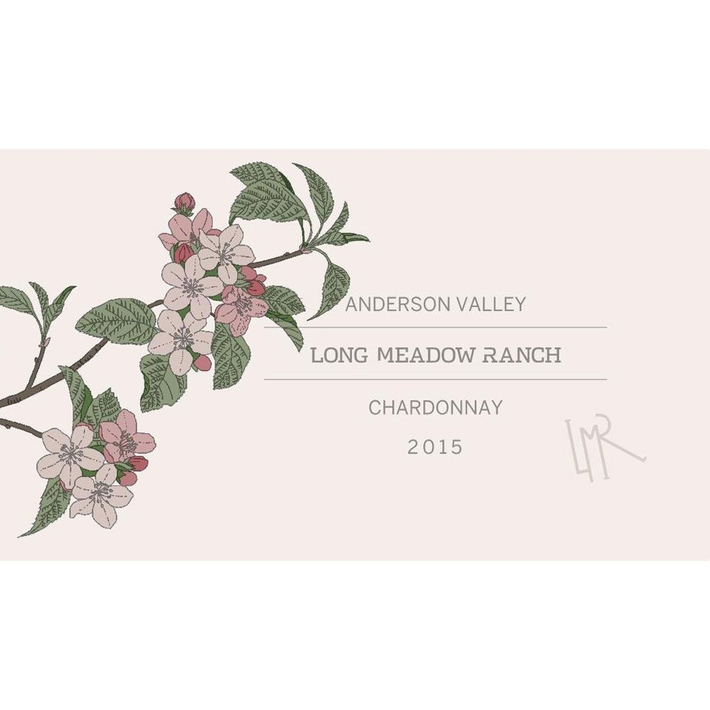 Long Meadow Ranch Anderson Valley Chardonnay 2015 Front Label