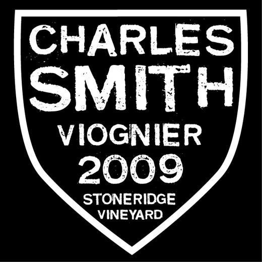Charles Smith Wines Stoneridge Vineyard Viognier 2009 Front Label