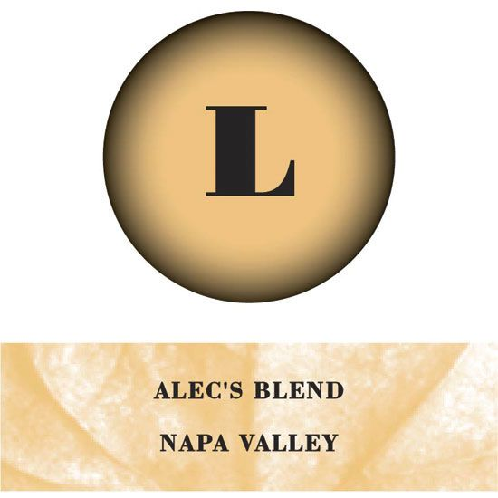 Lewis Cellars Alec's Blend Red 2003 Front Label