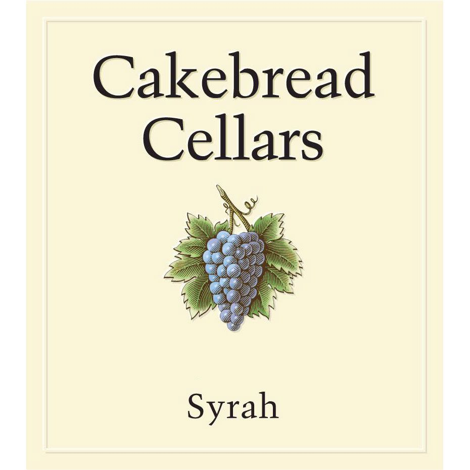 Cakebread Syrah 1998 Front Label