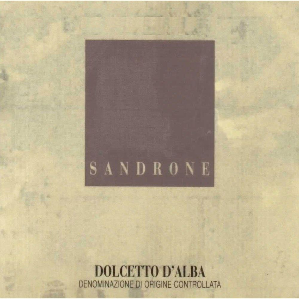 Sandrone Dolcetto d'Alba 2002 Front Label