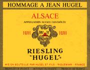 Hugel Hommage Riesling (half-bottle) 1997 Front Label