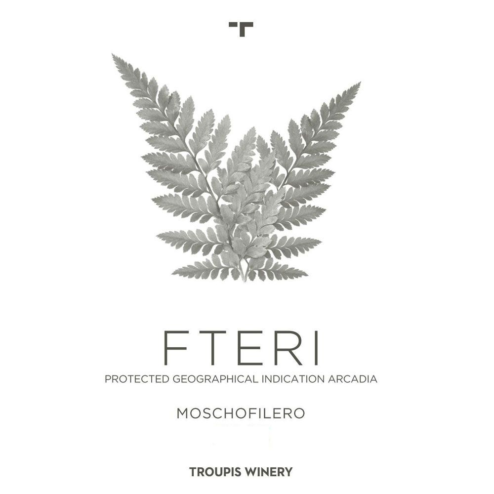 Troupis Winery Moschofilero Fteri 2015 Front Label