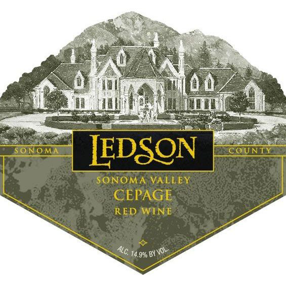 Ledson Winery & Vineyards Cepage 2009 Front Label