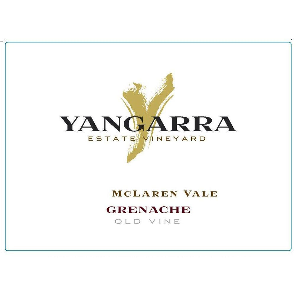 Yangarra Estate Old Vine Grenache 2014 Front Label