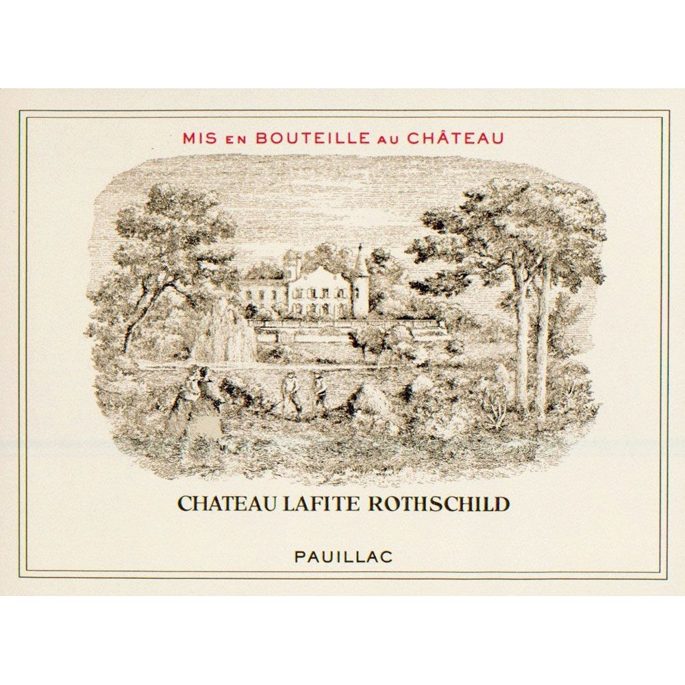 Chateau Lafite Rothschild  1987 Front Label