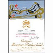 Chateau Mouton Rothschild  1981 Front Label