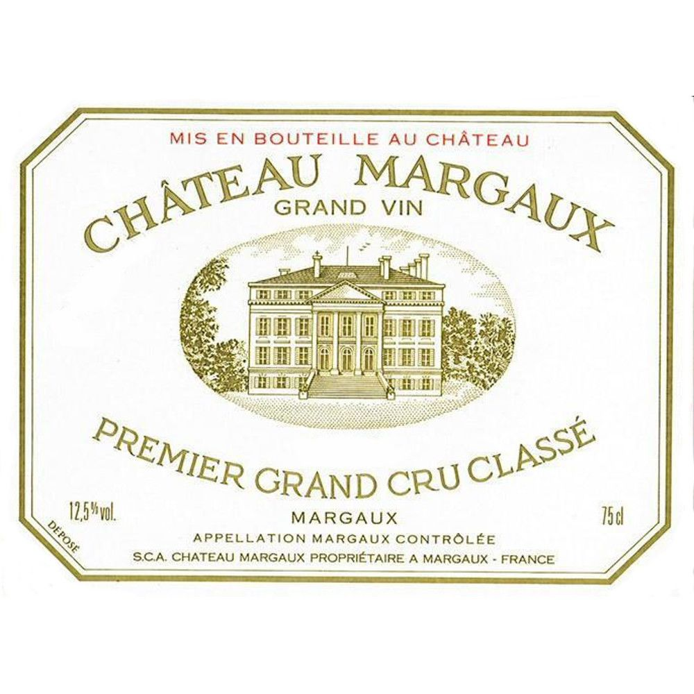 Chateau Margaux  1997 Front Label