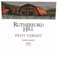 Rutherford Hill Petit Verdot 2004 Front Label