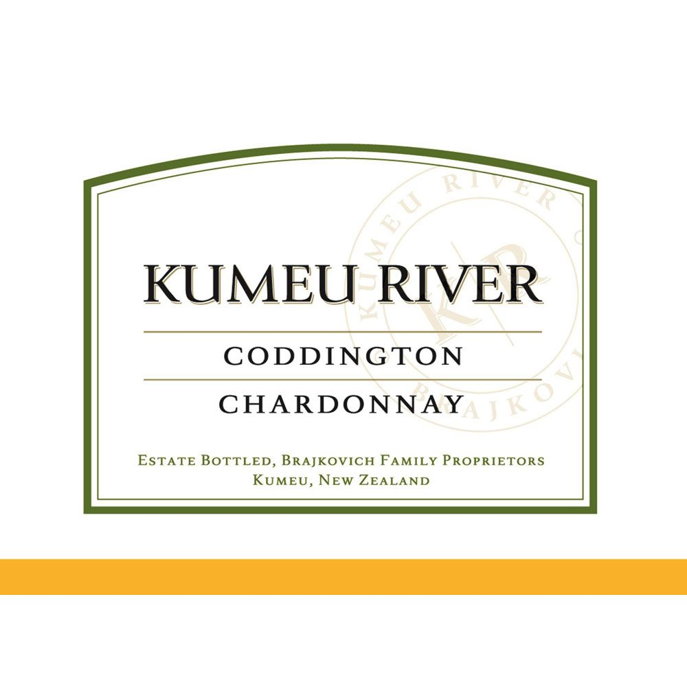 Kumeu River Coddington Chardonnay 2013 Front Label