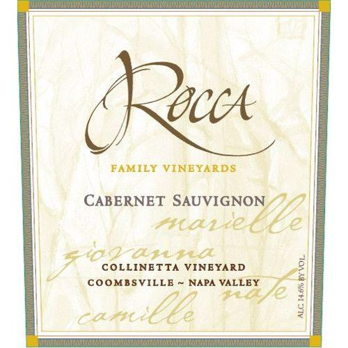 Rocca Family Vineyards Collinetta Cabernet Sauvignon 2010 Front Label