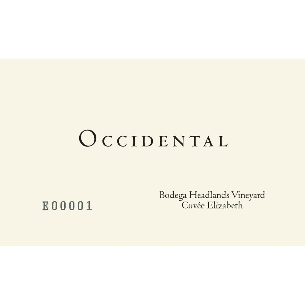 Occidental Bodega Headlands Cuvee Elizabeth Pinot Noir 2014 Front Label