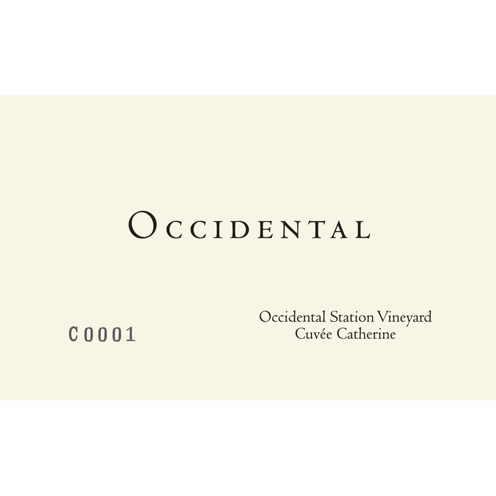 Occidental Cuvee Catherine Occidental Station Pinot Noir 2014 Front Label