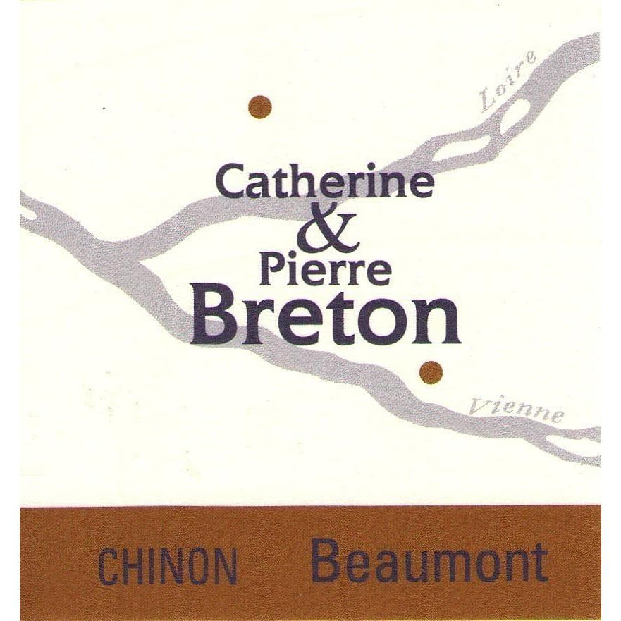 Catherine & Pierre Breton Beaumont Chinon 2013 Front Label